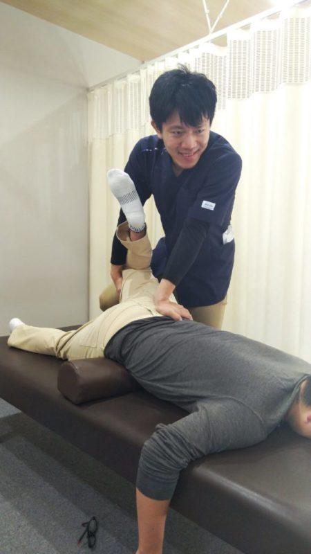 当院の痺れに対する施術方法