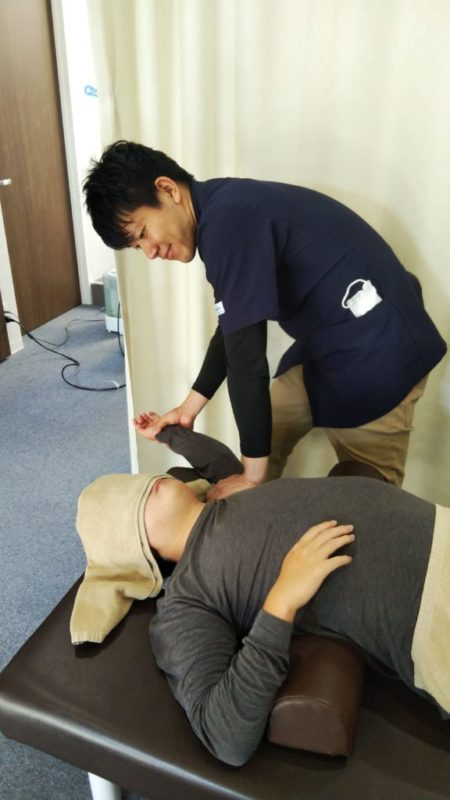当院の五十肩の施術