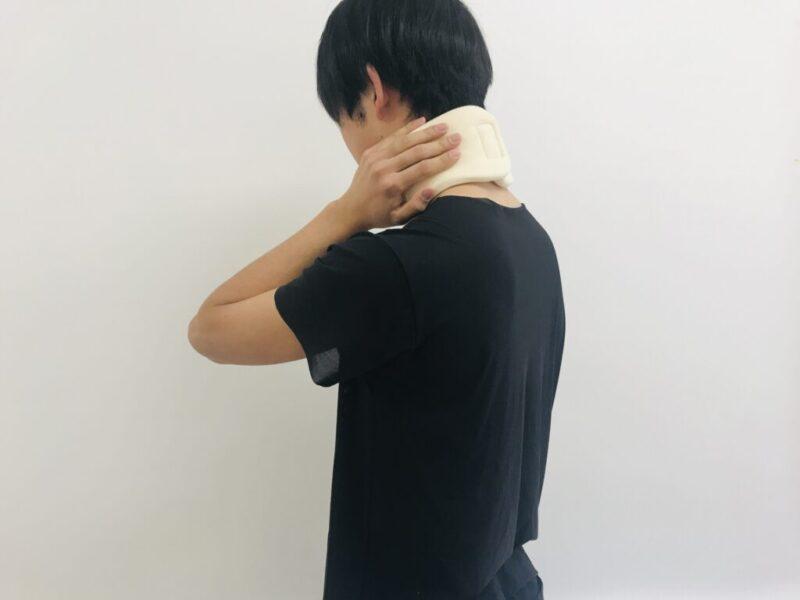 頚椎カラーでは首こりは改善されない